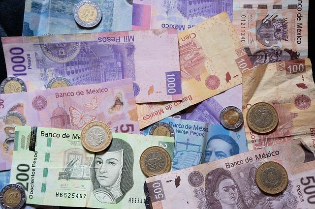 Mexikanische Pesos