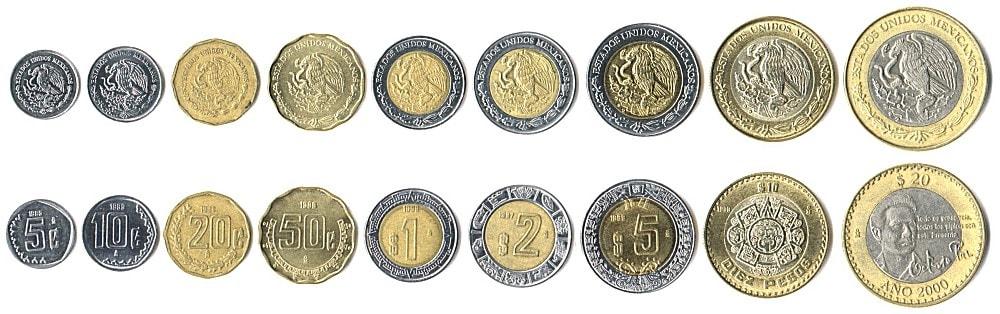 Mexikanische Münzen