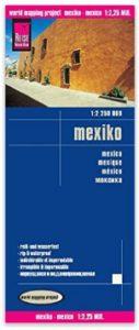 Mexiko Landkarte-Reise Knowhow