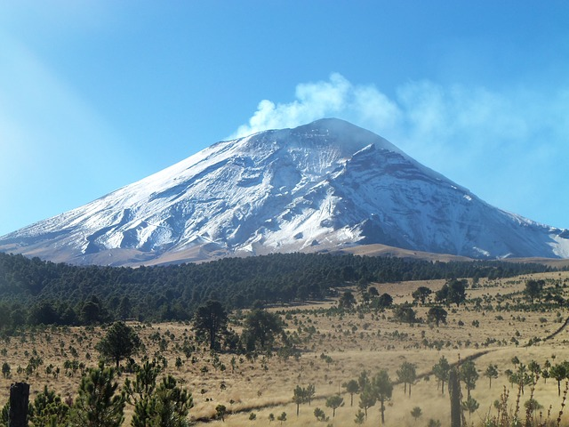 Popocatepetl - Vulkanlandschaft Mexiko