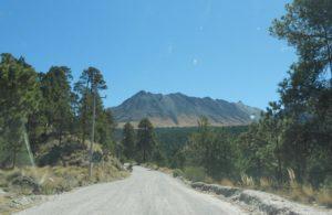 Anfahrt Nevado de Toluca