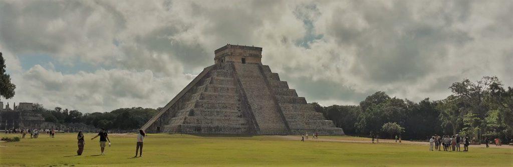 Die bekannte Pyramide von Chichen Itza