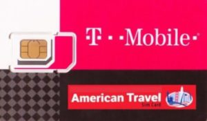 Travel SIM Card von T-Mobile
