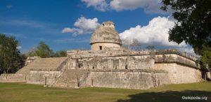 El Caracol Chichen Itza Maya Ruine