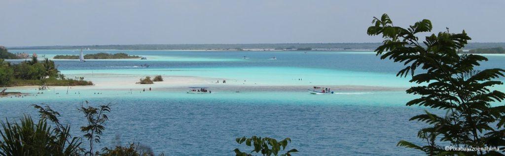 Die Lagune von Bacalar